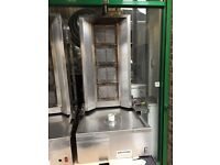 USED DONER KEBAB MACHINE CATERING COMMERCIAL KITCHEN BBQ SHOP RESTAURANT