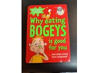 Childrens Book Why eating Bogeys is good for you