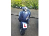 Vespa grandturismo 125 for sale (Only selling because im moving abroad)