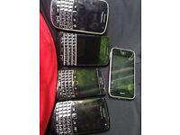 4 Blackberrys and iPhone 3gs all working
