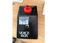Bell Voice/talk box