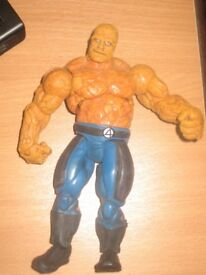"""The Thing - Fantastic Four - Marvel - 7"""" Character"""