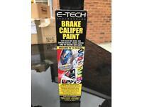 E-TECH Brake Caliper Paint - Blue. BRAND NEW! UNOPENED!
