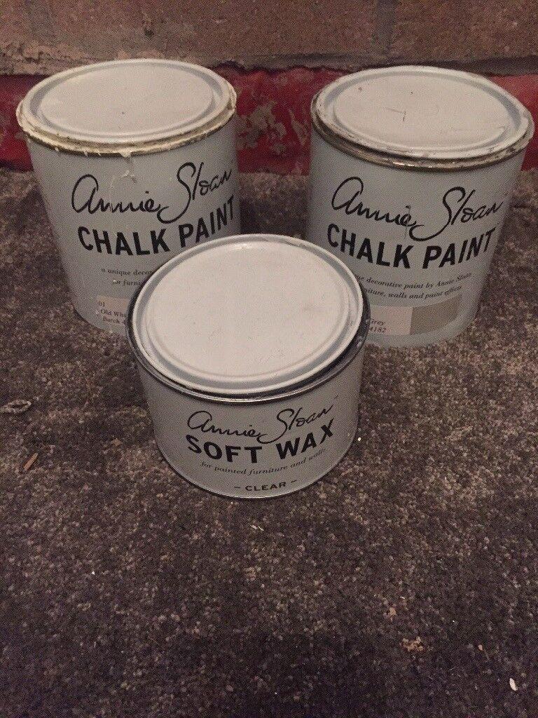 Annie Sloan Paris Grey Chalk Paint & Wax