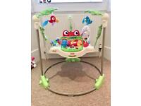 Fisher Price Rainforest Jumperoo As New with box