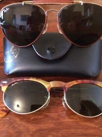 Two Pairs Of Vintage Ray Bands