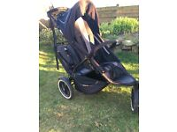 Phil & Teds buggy (double)