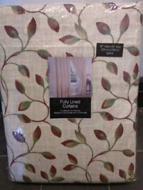 Two pairs of Next curtains (brand new)