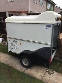 Large hot roast machine +ifor Willam's trailer gazebo and all accessories