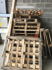 Free Scrap Wood/Broken Pallets