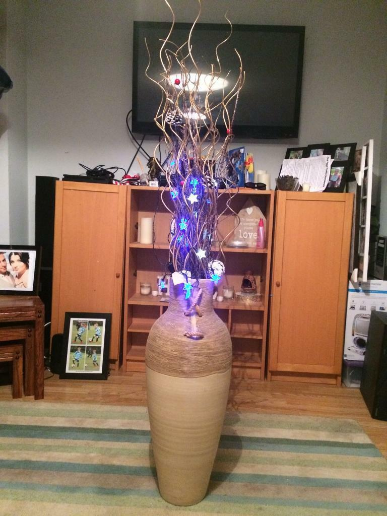 Large vase with twigs and lights in woking surrey gumtree large vase with twigs and lights reviewsmspy