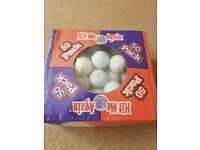 50 Lake Balls - NEW SEALED BOX