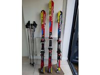 Salomon Skis - Three Pairs - ex-competitive skier quality £50 each pair/140 for 3
