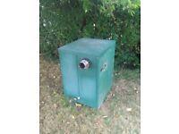 Oil boiler Firebird Eviromax Combi condensing external boiler.