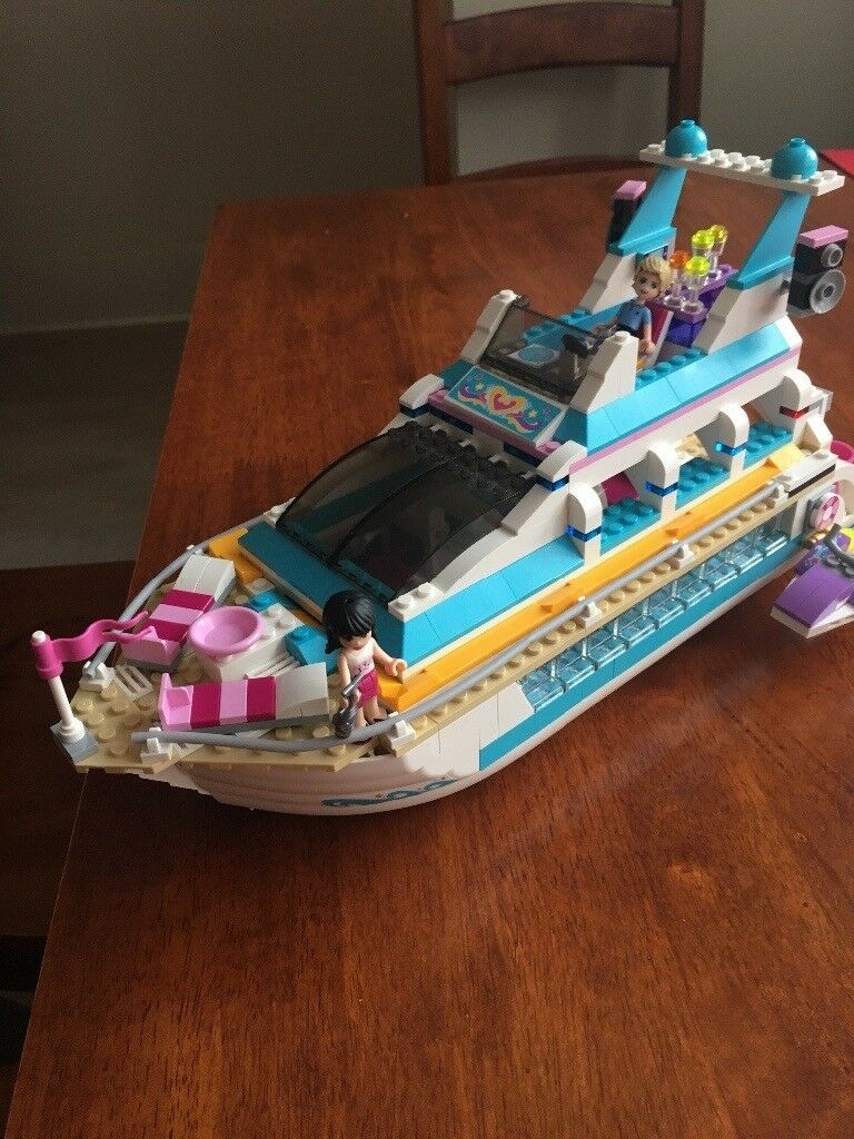 Lego Friends Cruise ship