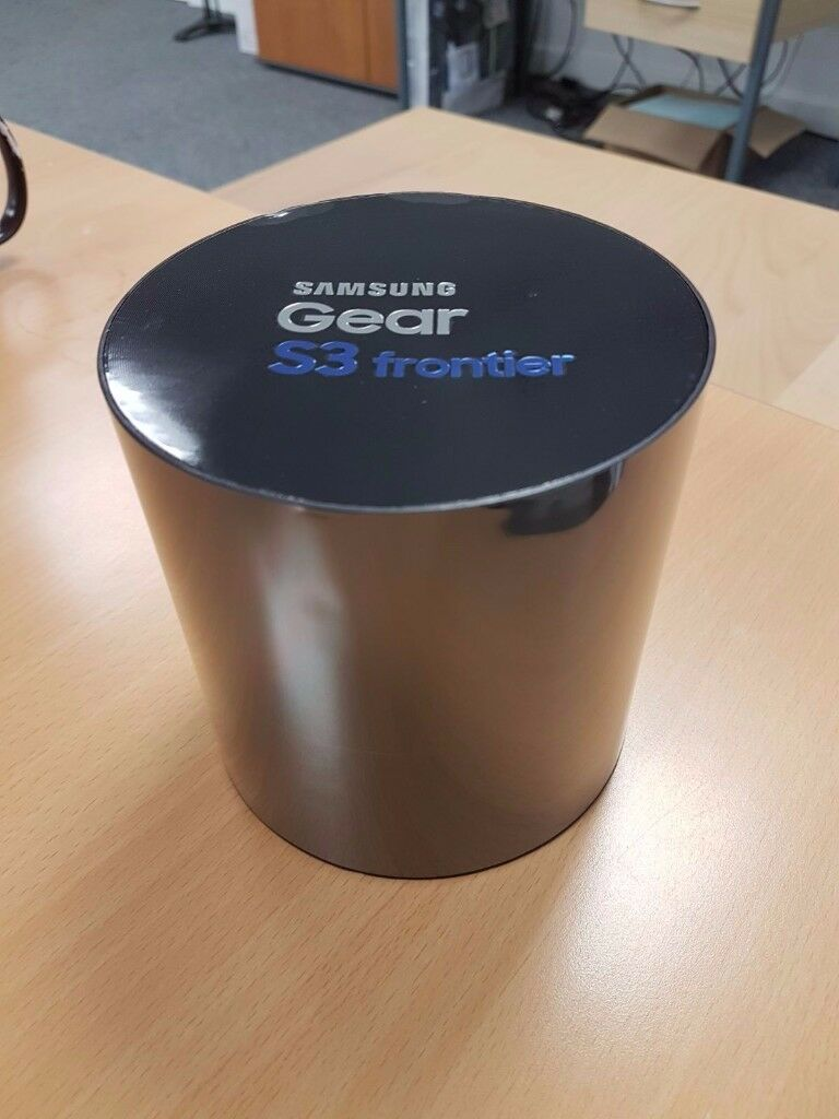 Brand New Sealed Samsung Gear S3 Frontier