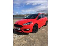 Ford Focus Zetec S Red Edition ST Line 1.5T