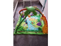 Fisher price rainforest baby gym for sale