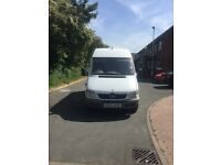 Mercedes sprinter 311 cdi 2004 mwb mot + tax