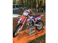 2011 Honda Crf 250 full rekuls clutch and yoshi pipe good runner