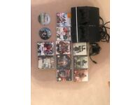 PS3 120GB Bundle including 2 wireless controllers and 10+ games
