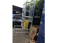podium platform, 2.5 meters in a very good condition, no faults