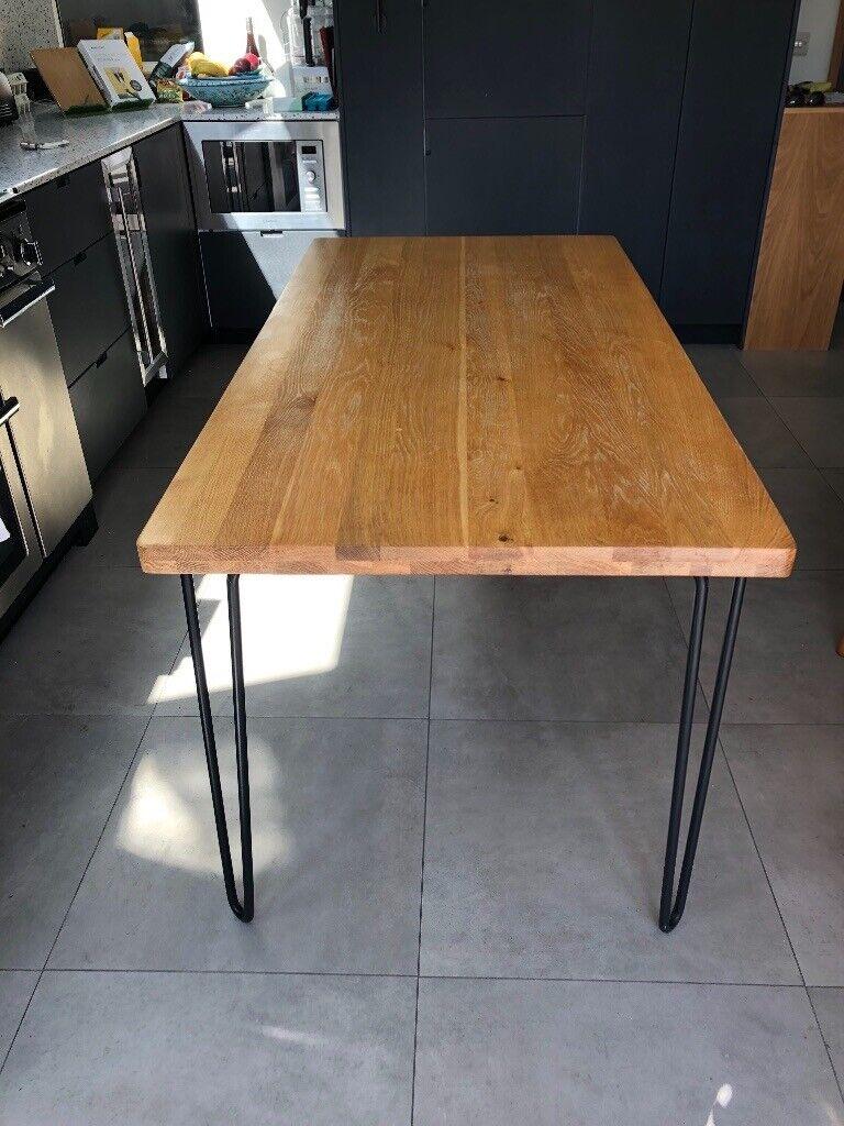 Heals Brunel Oak Dining Table Mid Century In Hackney London Gumtree