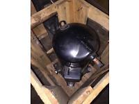 Compressor/motor refrigerators