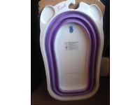 Baby Bath tub Purple and white New