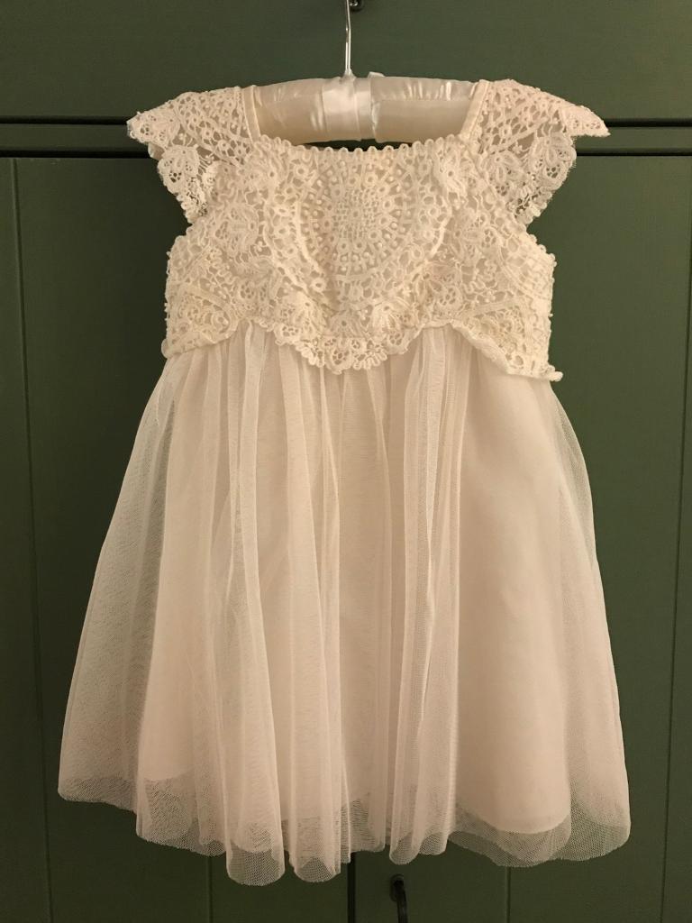 Gorgeous flower girl/bridesmaid or christening dress