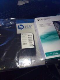 HP Laptop 15.6 Inch, 2TB Memory, 8GB Ram + Case + Headphones