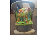 Fisher price rainforest swing-excellent condition