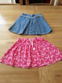 Girls skirts size 5 years -2 of them