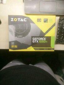 Zotac Nvidia gtx 1050 ti 4 GB graphics card oc edition new(unboxed) Negotiable!
