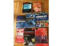 Criminology textbooks
