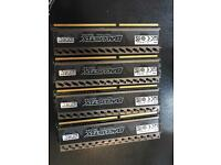 4x 8GB,DDR3 ,1866mhz,BALLISTIX TACTICAL TRACER total of 32GB