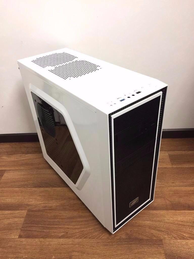 High Spec Custom Built Gaming Computer PC (Intel i7 3770, 8GB RAM, 500GB HD, GTX 1050 2GB ASUS)