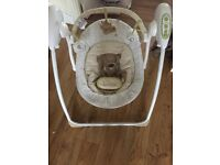 Mothercare loved so much swing t excellent condition from a smoke & petfree home