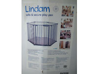 Lindam Play Pen + security gate