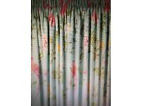 Laura Ashley curtains - duck egg