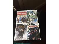 Selection of 11 wii games
