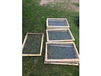 20 Aviary fence panels, pet run, chicken run