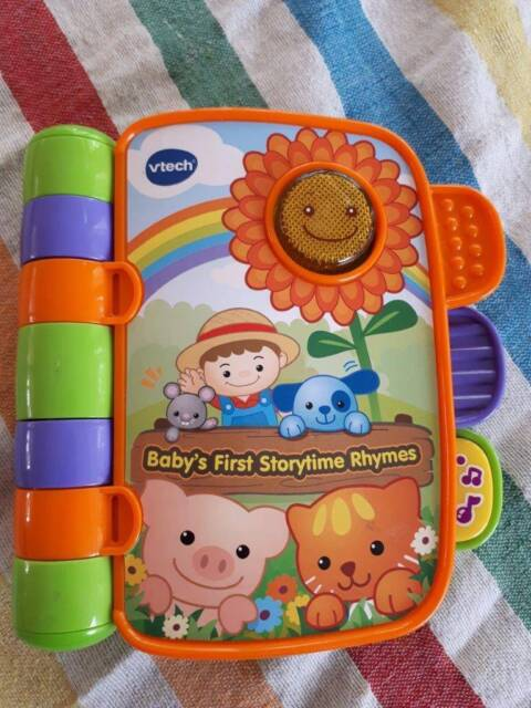 Vtech Babys First Storytime Rhymes Book Toys Indoor Gumtree