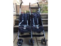 Double pushchair - side by side