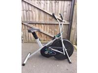 V-fit exercise bike with digital display