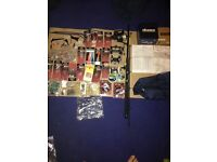 Boat rod 4 reels and tackle