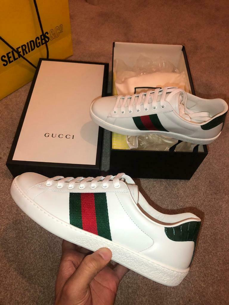 3a6cb2c7226 Gucci ace trainers mcqueen louboutin