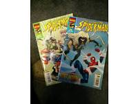 ASTONISHING SPIDERMAN COMICS