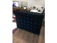 LEDJ Tri LED Matrix Table Cloth System - DJ Disco Party Lights