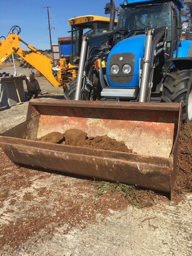 JCB digger bucket just fitted new set euro tractor loader brackets | in  Castlewellan, County Down | Gumtree